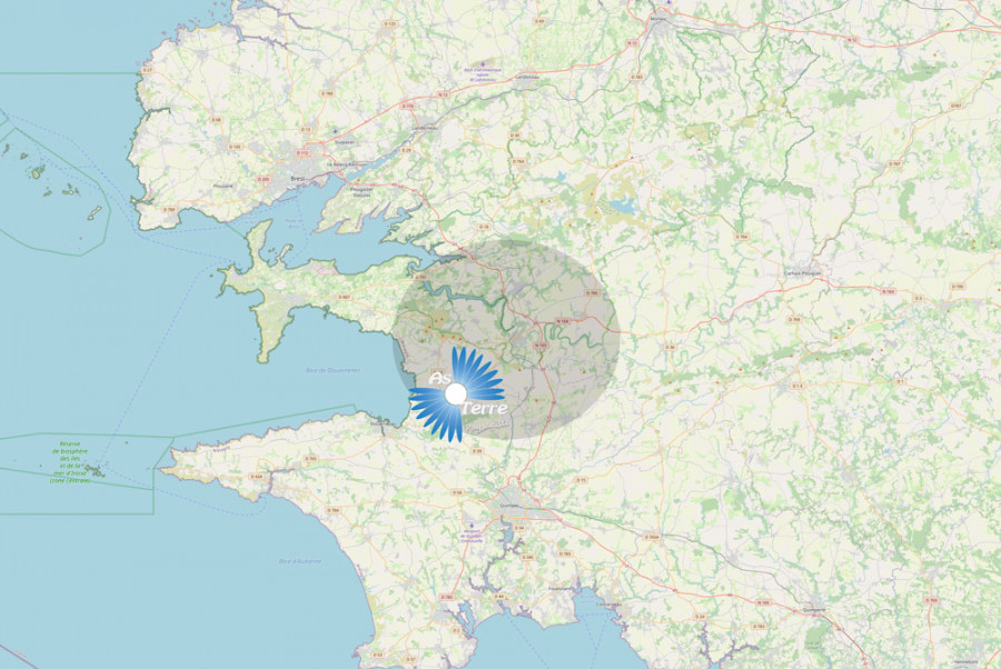 Les sociétés As Terre Paysagiste et Vert Le Service, travaillent pour vous dans le bassin de Châteaulin, jusqu'au Faou, Pont de Buis, Gouezec et Saint Nic